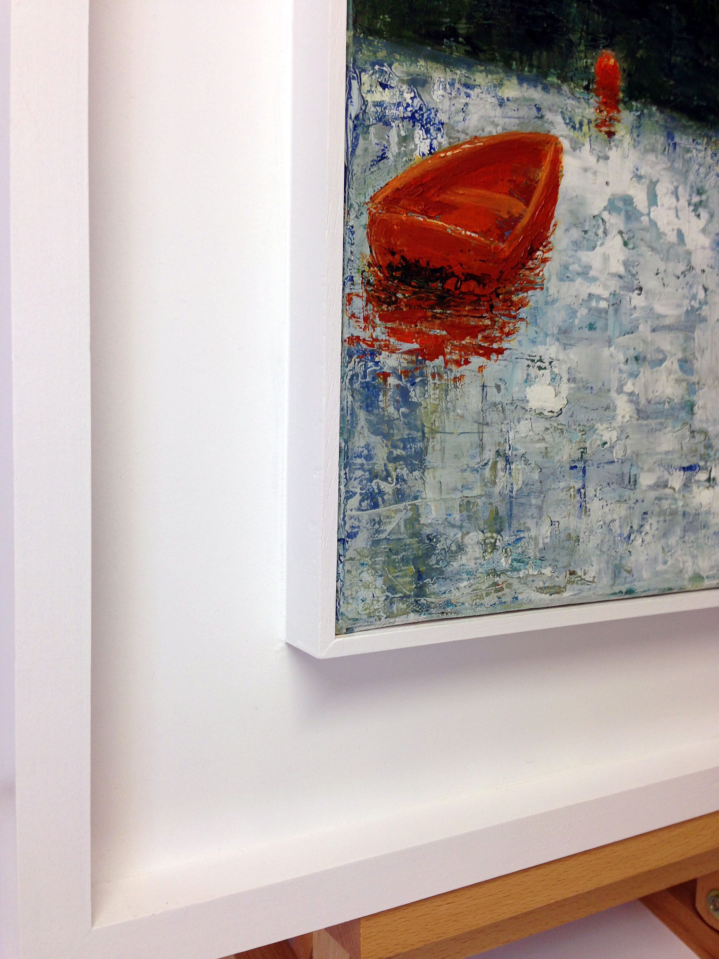 Canvas tray frame - Customs House Gallery - Porthleven
