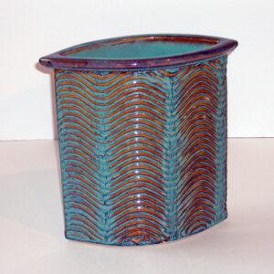 Starfall Pottery – Wave vase