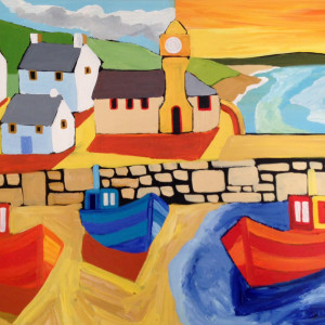 David Hosking – 'Porthleven Morning'