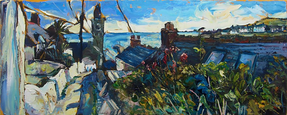 Susan Isaac – Porthleven from Institute Hill