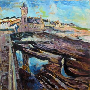 Susan Isaac – Porthleven from the Pier