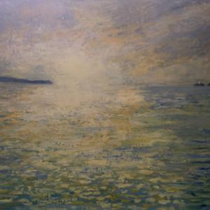 Jackie Hollingsbee – Winter sundown, St Ives Bay