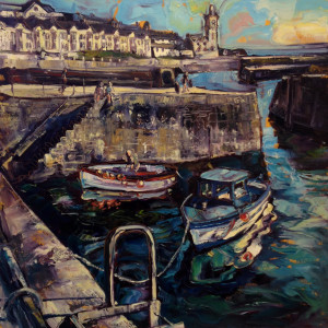 Susan Isaac – Porthleven Harbour