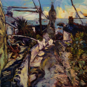 Susan Isaac – Porthleven from Institute Hill II