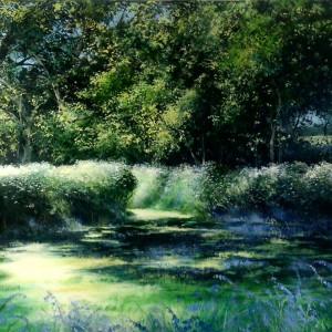 Heather Howe – 'Bluebells in the Glade'