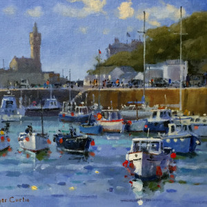 Roger Curtis – Bright Day, Porthleven