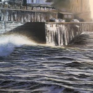Andrew Giddens – Winter Swell, Porthleven