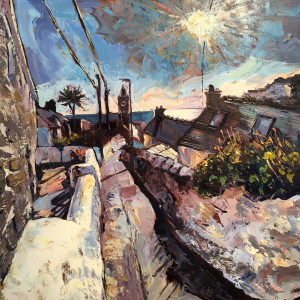 Susan Isaac – Porthleven from Institute Hill III
