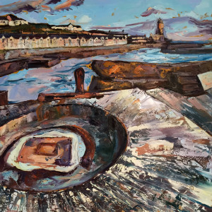 Susan Isaac – The Harbour at Porthleven