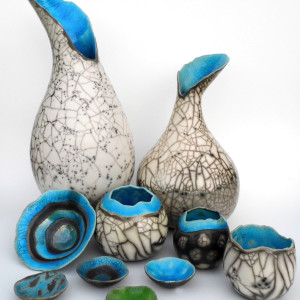 Catherine Lucktaylor – Raku ceramic work