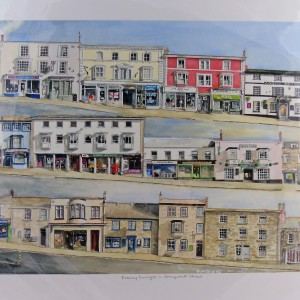 Diana Purchas – Evening Sunlight in Coinagehall Street