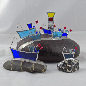 Toana Ellis – glass boats