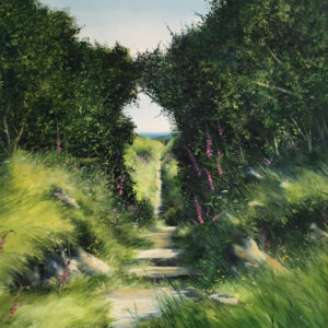 Heather Howe – Foxgloves by the Stile