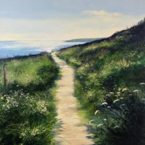 Heather Howe – Late Evening Stroll, The Wrestling Fields