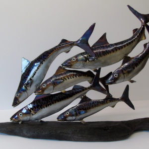 Nigel Wills – Shoal of Six Mackerel