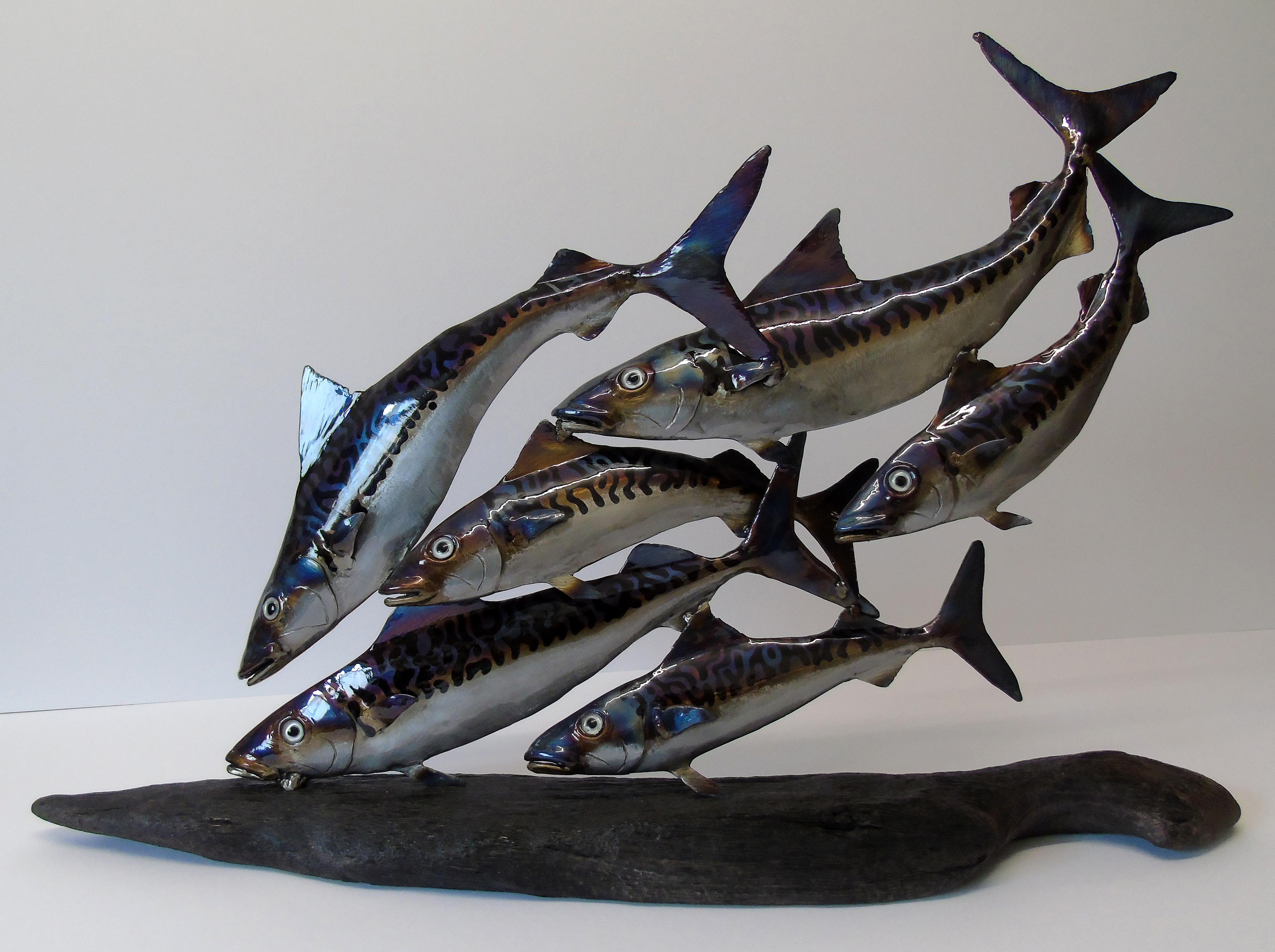 Nigel Wills Shoal Of Six Mackerel Customs House