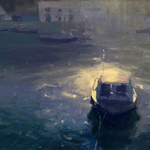 Jenny Aitken – Little Boat, Porthleven