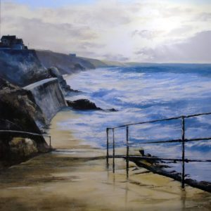 Heather Howe – Dawn Surf, Porthleven