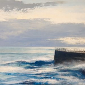 Heather Howe – Evening Waves, Porthleven