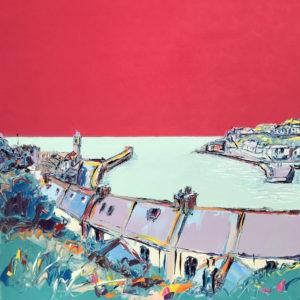 Joe Armstrong – Raspberry Sky, Porthleven