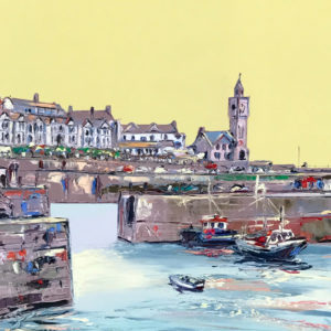 Joe Armstrong – Porthleven Harbour, Lemon Sky