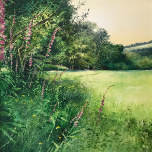 Heather Howe – A Walk through the Meadow at Dusk