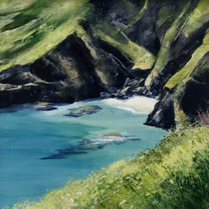 Heather Howe – Swimming at Housel Bay