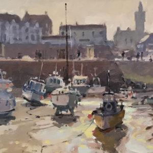 Roger Curtis – Inner Harbour, Porthleven