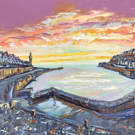 JA – Porthleven Sunset