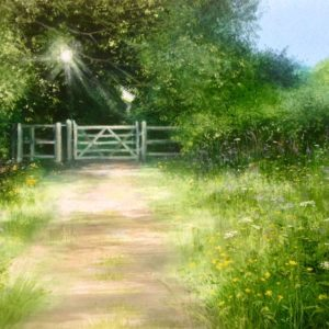 Heather Howe – Buttercups by the Kissing Gate