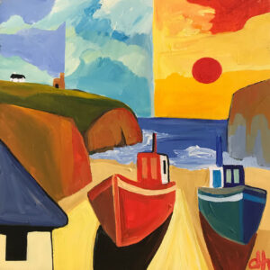 David Hosking – Boats at Rest