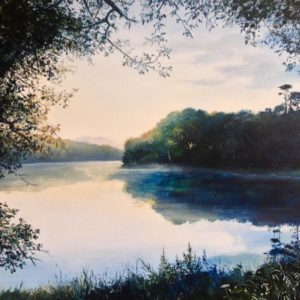 Heather Howe – Dawn Reflections, Loe Pool