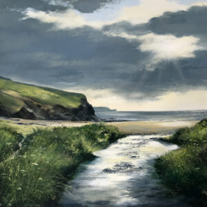 Heather Howe – Streams of Light (Church Cove, Gunwalloe)
