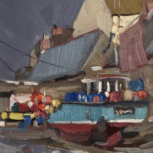 Ben Taffinder – Blue Crabber, Cadgwith