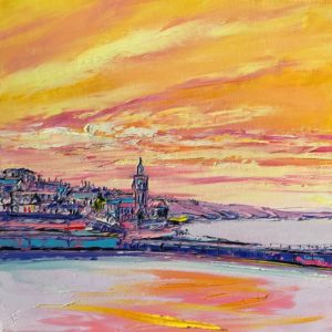 Joe Armstrong – Porthleven, Lemon Twist Sky
