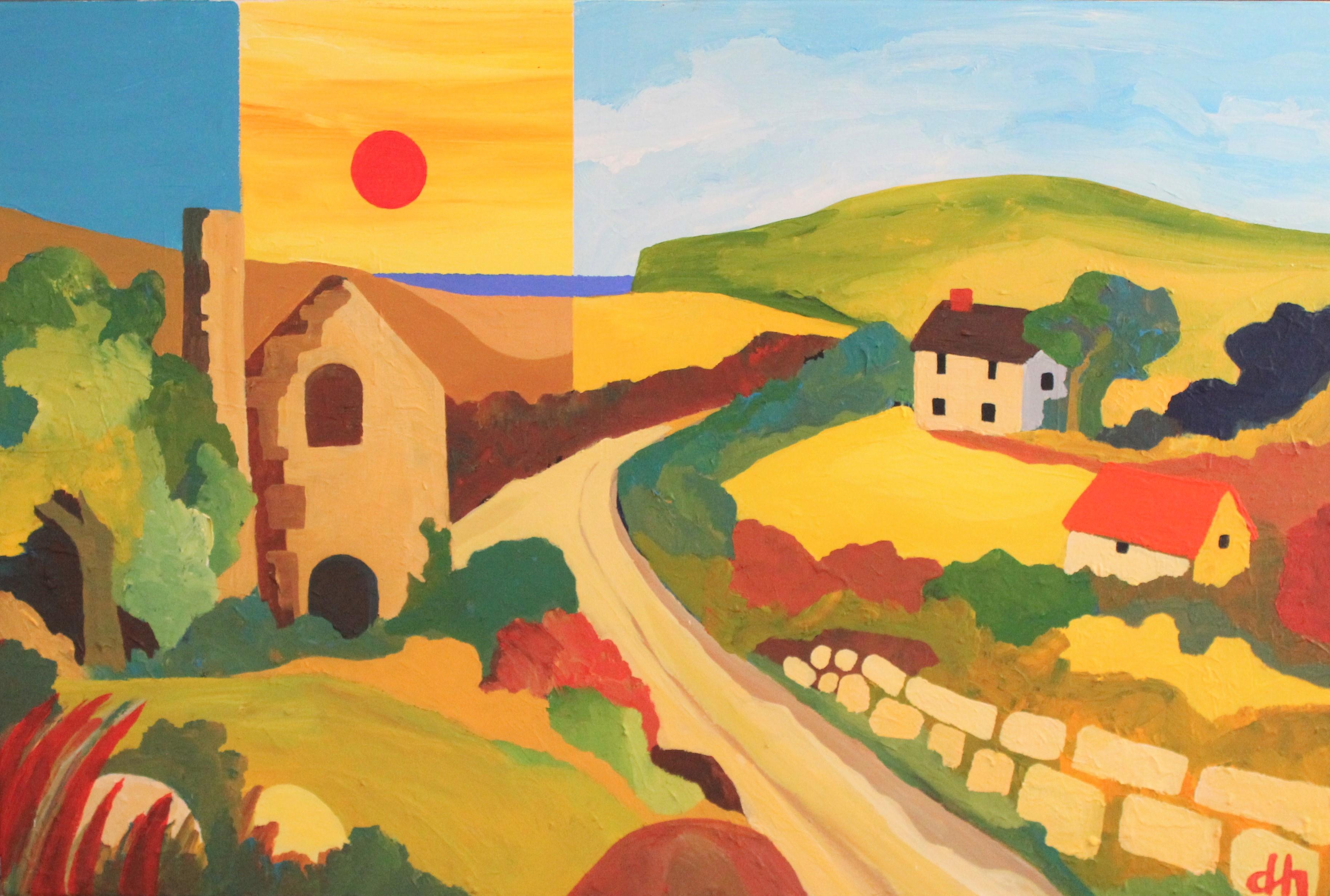 David Hosking Farm Lane Customs House Gallery Porthleven