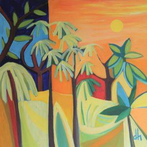 David Hosking – Palms at Trebah