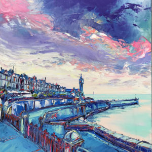 Joe Armstrong – Porthleven in Blue
