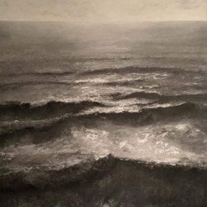 Simon Jewell – Evening Sun Rides the Waves