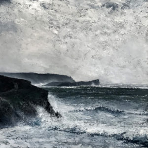 Simon Jewell – Stormy Seas at Mullion