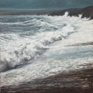 Simon Jewell – The Ocean Lunges, then Hurls Itself at the Shore