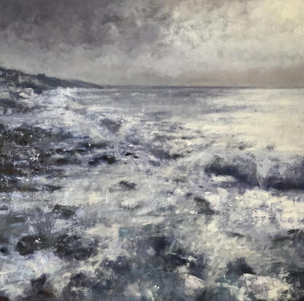 Andrew Barrowman Storm Approaching Tye Rock Porthleven