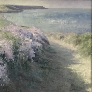Andrew Barrowman – Cornish Coast Path, Morning Light (near Fishing Cove)