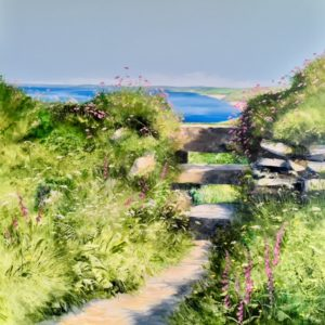 Heather Howe – Foxgloves at Gunwalloe
