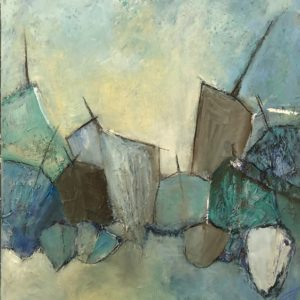 Jackie Hollingsbee – Abstract Boat Shapes