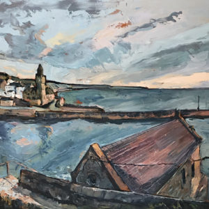 Susan Isaac – Porthleven Institute from the Old Lifeboat Station