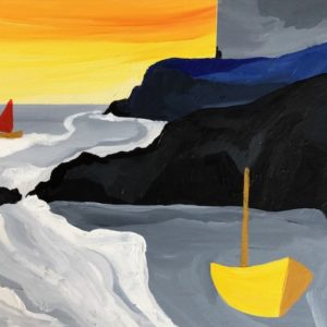 David Hosking – Golden Light of Morning (near Rinsey)