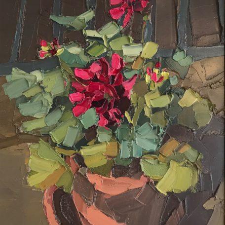 Ben Taffinder – Red Geraniums