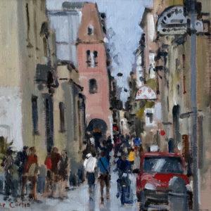 Roger Curtis – Via Dei Tribunali, Naples