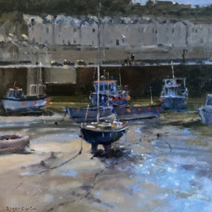 Roger Curtis – Tide Coming In, Porthleven